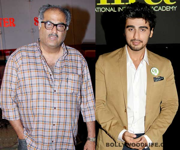 Why will Boney Kapoor not produce son Arjun Kapoor's film Tevar?