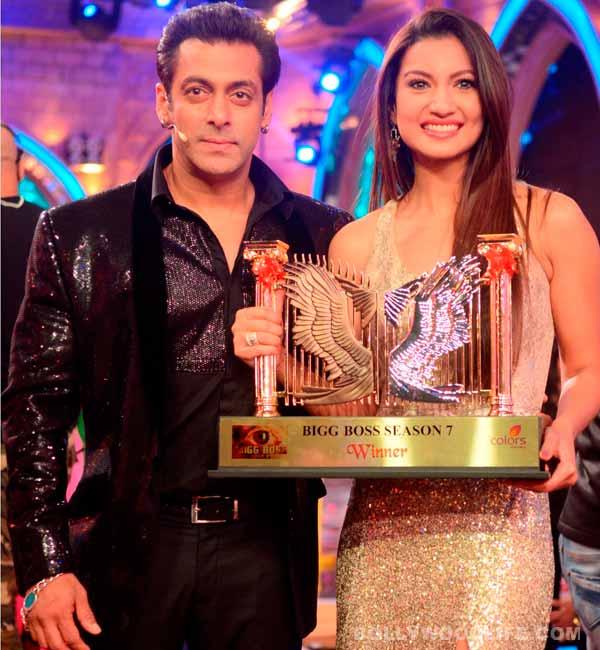 Gauahar Khan: I totally respect and adore Salman Khan!