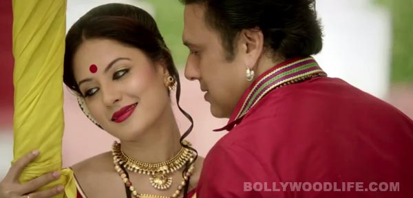 Gori Tere Naina title track: Govinda sings well but should never again dance with girls half his age