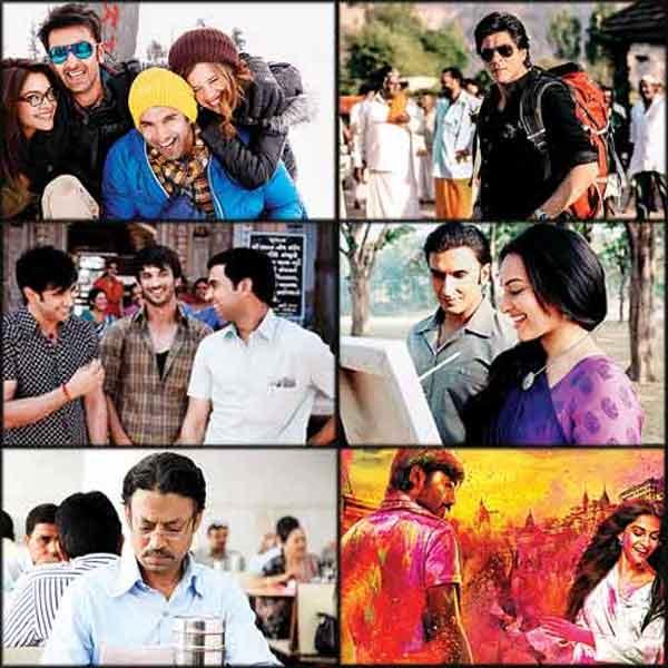 Chennai Express, Yeh Jawaani Hai Deewani, Lootera, Kai Po Che among the favourite films of 2013