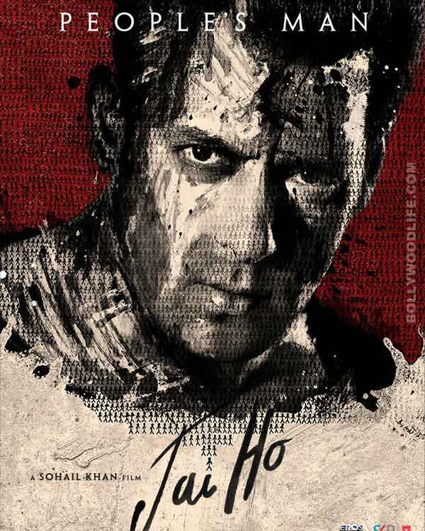 Did you know the Jai Ho poster was painted by Salman Khan?