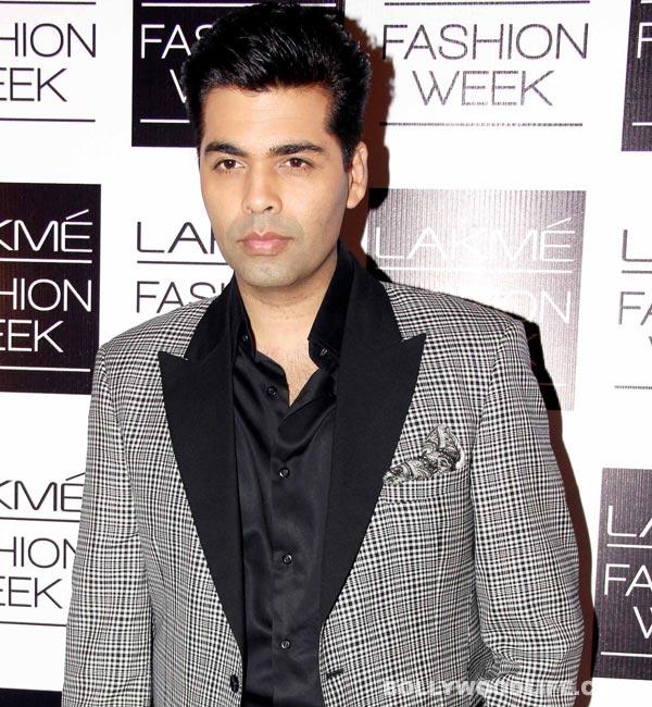 Karan Johar to act again – but will he dance?