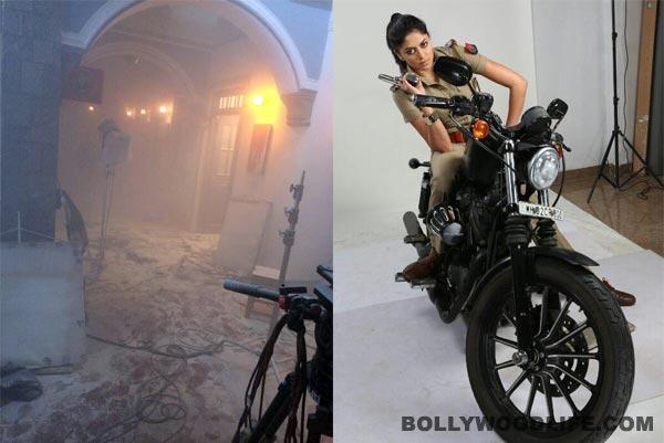Kavita Kaushik's brave act on the sets of FIR