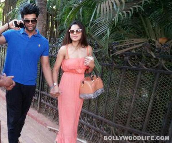 Bigg Boss 7 lovers Kushal Tandon and Gauahar Khan romance in Goa!
