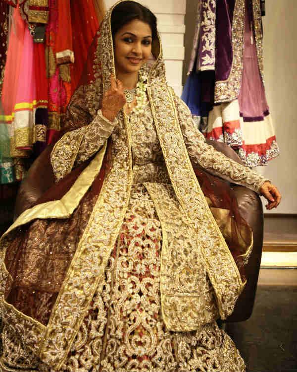 Desh Ki Beti...Nandini's Kirti Nagpure: I feel like a princess in this wedding outfit!