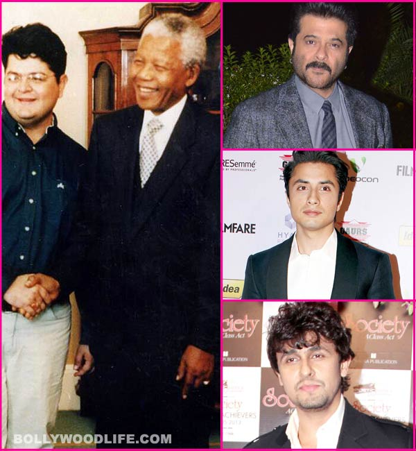 Anil Kapoor, Sonu Nigam and Ali Zafar pay tribute to the late Nelson Mandela