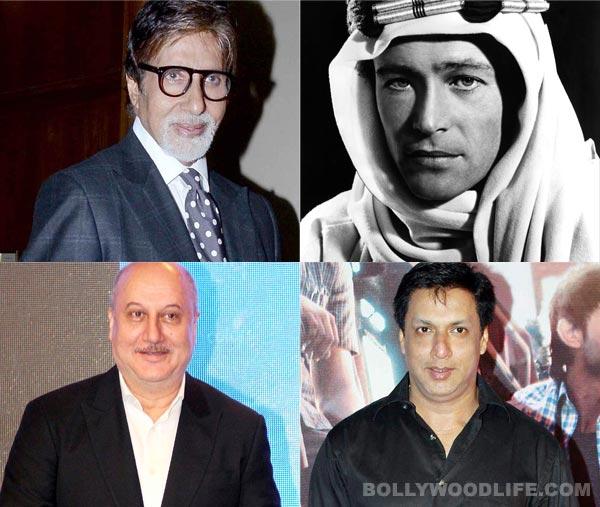 Peter O'Toole passes away; Amitabh Bachchan, Anupam Kher, Madhur Bhandarkar mourn his death