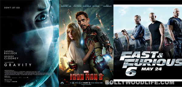 Gravity, Iron Man 3 and Fast and Furious 6 - A look at Hollywood's bloopers galore!