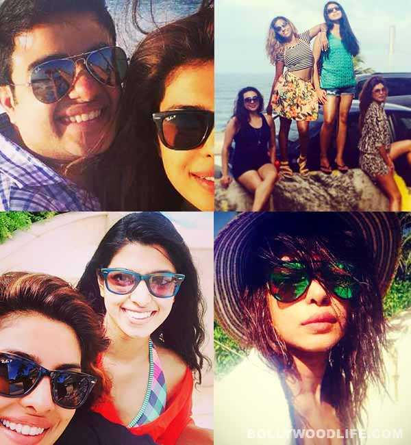 Who was Priyanka Chopra on holiday with? View pics!