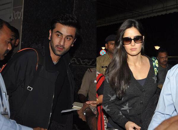 Ranbir Kapoor and Katrina Kaif off on another vacation!