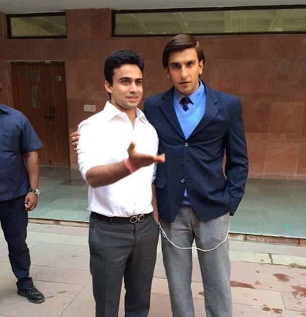 Has Ranveer Singh shed his Ram-Leela look to go back to college?