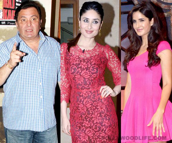 Is Rishi Kapoor upset with Kareena Kapoor Khan for calling Katrina Kaif her sister-in-law?