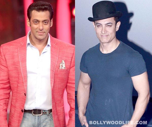 Why does Aamir Khan consider Salman Khan as a bigger star than him?
