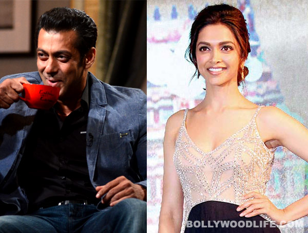 Is Salman Khan smitten by Deepika Padukone?