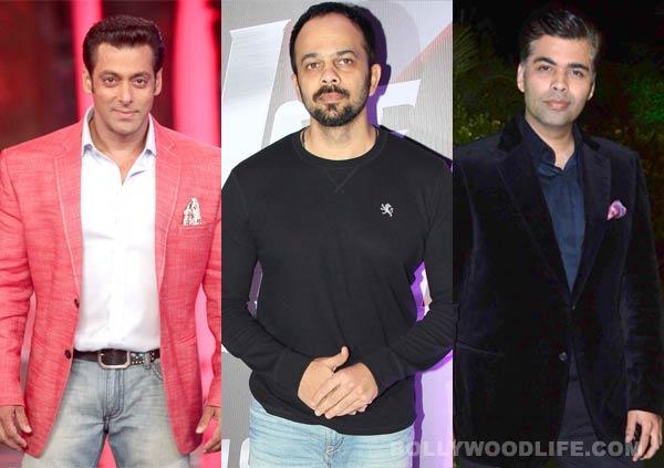Salman Khan to work with Rohit Shetty for a Karan Johar film