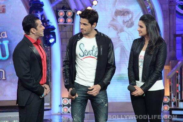 Bigg Boss 7 diaries day 98: Sidharth Malhotra and Parineeti Chopra promote Hasee Toh Phasee with Salman Khan