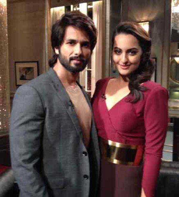Koffee with Karan 4: What was Shahid Kapoor and Sonakshi Sinha's gandi baat on Karan Johar's show?