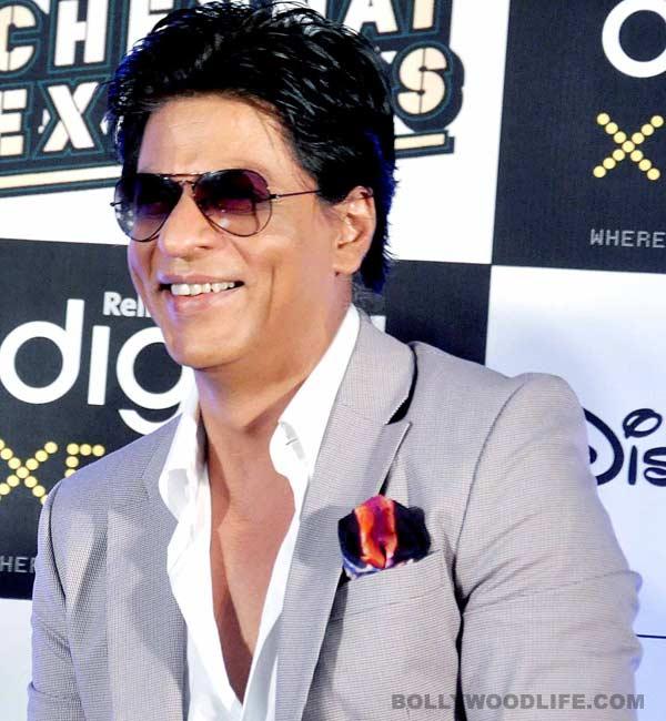Shahrukh Khan's son AbRam has dimples just like him!
