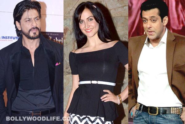 Has Elli Avram shifted loyalties from Salman Khan and Shahrukh Khan?