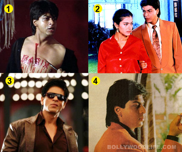 Shahrukh Khan's Darr act voted as his best villainous one!