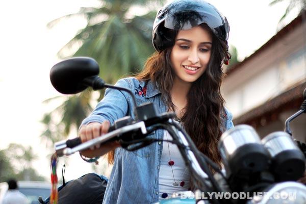 Do you like Shraddha Kapoor's biker look?