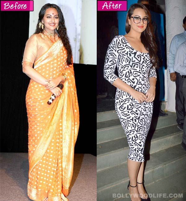 Is Sonakshi Sinha finally trying to get back in shape?