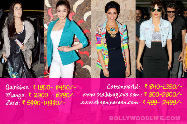 Katrina Kaif, Priyanka Chopra or Kareena Kapoor Khan: Whose jacket would you buy?