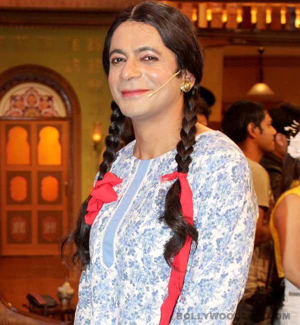 Sunil Grover is past Gutthi - he is now Kunwari!