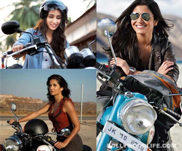 Katrina Kaif, Shraddha Kapoor or Kareena Kapoor Khan: Who is the sexiest biker babe? Vote!