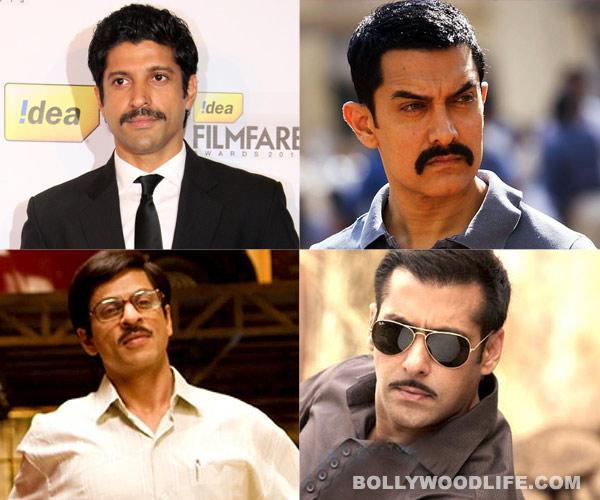 Farhan Akhtar, Akshay Kumar, Shahrukh Khan or Salman Khan: Who looks the best with a moustache?