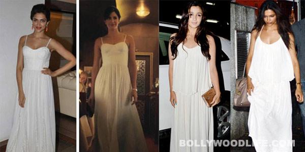 Deepika Padukone copies Katrina Kaif and Sonam Kapoor: Who wears it better?