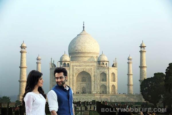 Jackky Bhagnani and Neha Sharma visit Taj Mahal for Youngistan!