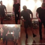Dhoom:3 – Aamir Khan trains with Dein Perry for the Tap song. Watch video!