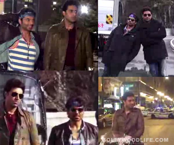 Total recall: Abhishek Bachchan and Uday Chopra are also a part of Dhoom: 3! Watch video!
