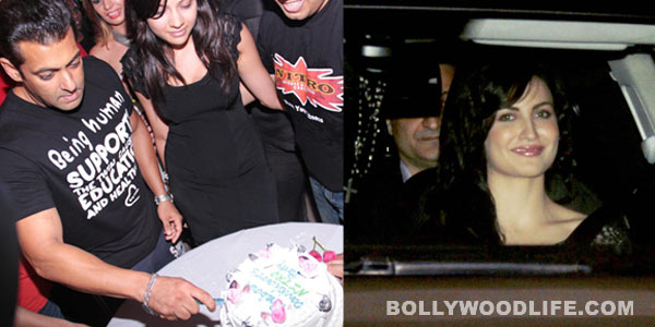 Was Elli Avram Salman Khan's special guest at his birthday bash? View pics!