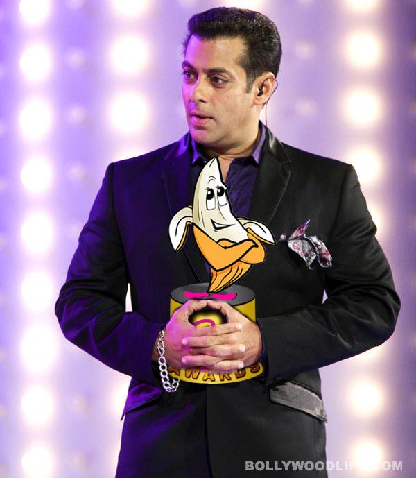The 3rd BollywoodLife awards 2013: Salman Khan beats Shahrukh Khan and Amitabh Bachchan to win the Blue Bird of the Year award!