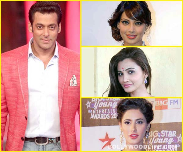 Bipasha Basu, Daisy Shah, Nargis Fakhri - Bollywood's hotties wish Salman Khan on his birthday!