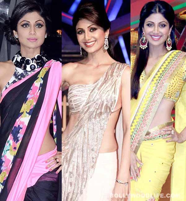 Shilpa Shetty Kundra's super sexy saree style statements!