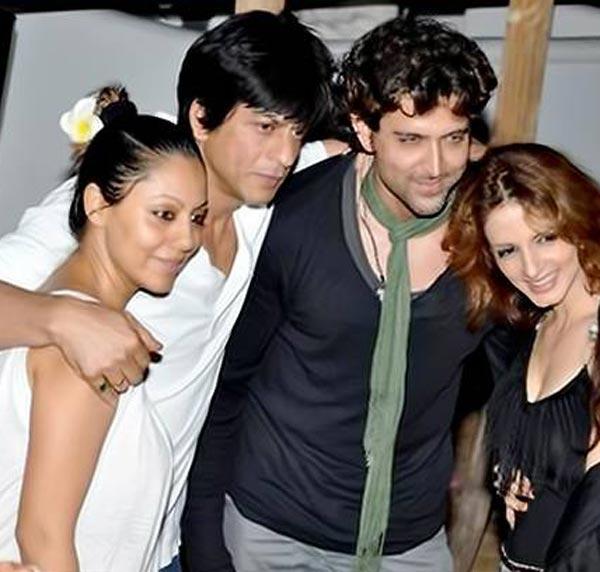 Will the Hrithik Roshan-Sussanne split divide their friends Shahrukh and Gauri Khan?