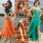 Asha Negi, Tina Dutta, Sukriti Kandpal shoot for Telly Calendar 2014