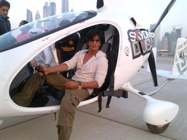 Shahrukh Khan injured during Happy New Year shoot!