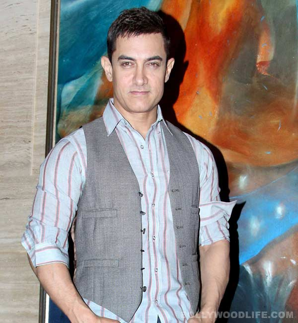 Why did Aamir Khan and Faisal Khan reconcile amicably?