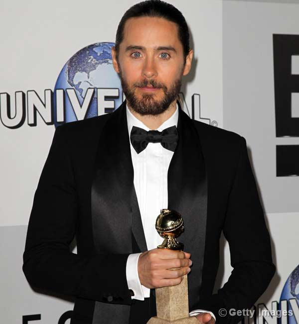 71st Annual Golden Globe Awards: Jared Leto wins best supporting actor for Dallas Buyers Club