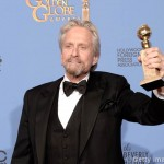 71st Annual Golden Globe Awards: Michael Douglas awarded the best actor in miniseries award for Behind the Candlebra