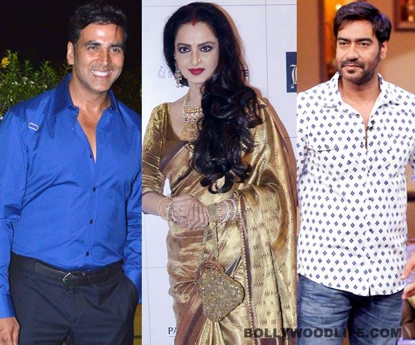 How did Akshay Kumar and Ajay Devgn's loss become Rekha's gain?