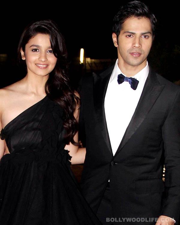 Alia Bhatt and Varun Dhawan captured making love!