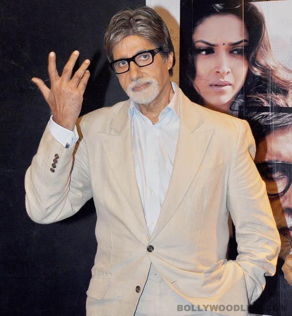 Why is Amitabh Bachchan happy and proud?