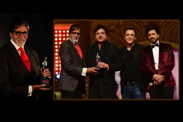 Amitabh Bachchan left speechless after receiving Lifetime Acheivement Award