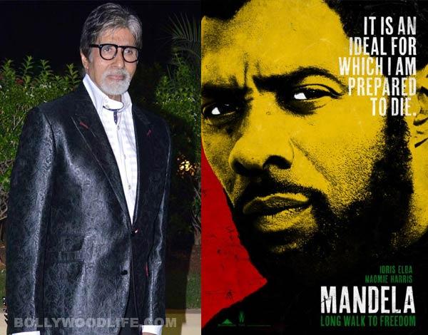 Amitabh Bachchan promotes Mandela: Long Walk To Freedom