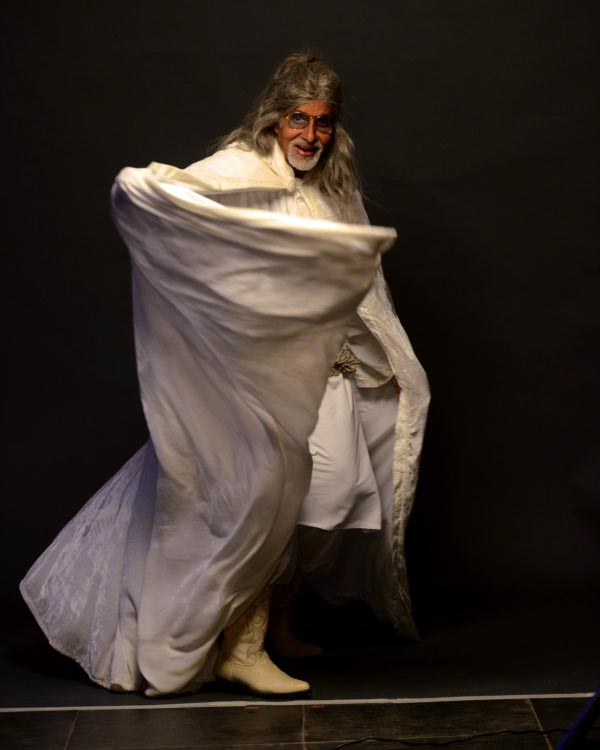 Have you seen Amitabh Bachchan's new look?